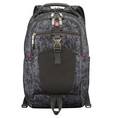 597dc1235c104 Wenger Planemo Laptop Backpack Black Geo - Office Depot