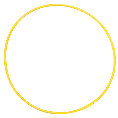 """Champion Sports 24"""" Plastic Hoops, Assorted Colors, Pack Of 12"""