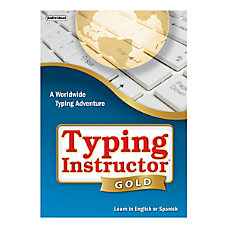 Individual Software Typing Instructor Gold Traditional