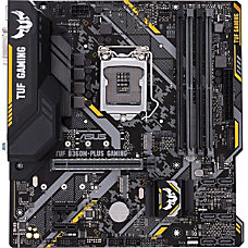 TUF B360M PLUS GAMING Desktop Motherboard