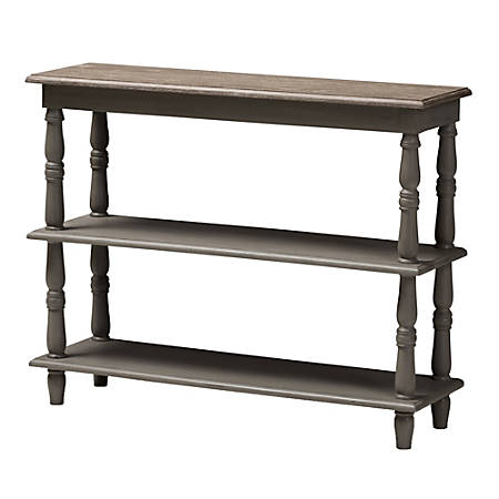 Baxton Studio Eny Console Table, Brown