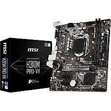 MSI H310M PRO VH Desktop Motherboard