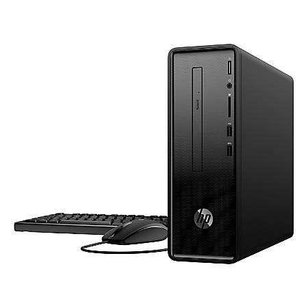 HP 290-a0046 Slim Desktop PC, AMD A9, 8GB Memory, 1TB Hard Drive, Windows® 10, 2HL09AA#ABA