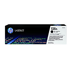 HP 128A Black Original Toner Cartridge