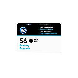 HP 56 Economy Yield Black Ink