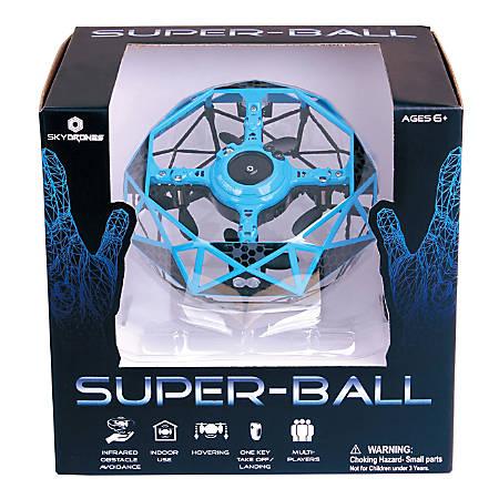 Sky Drones Super Ball Interactive Drone, Blue, SKY-097B