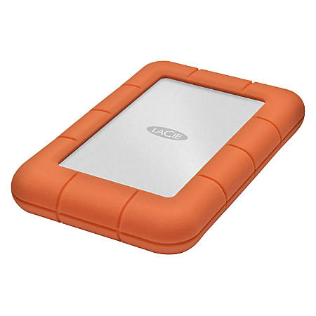 "LaCie Rugged Mini 301558 1 TB Hard Drive - 2.5"" Drive - External - Portable"
