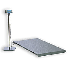 Brecknell PS2000 Floor Scale 2000 Lb
