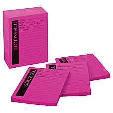 Post it Printed PhoneMessage Notepads 4