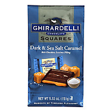 Ghirardelli Chocolate Squares Dark Chocolate And