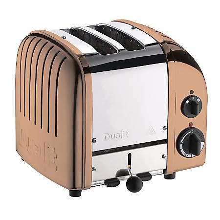 Dualit® NewGen Extra-Wide-Slot Toaster, 2-Slice, Copper