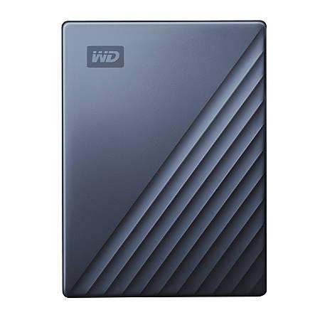 Western Digital® My Passport™ Ultra 2TB Portable External Hard Drive, 64MB Cache, WDBC3C0020BBL-WESN, Blue/Black