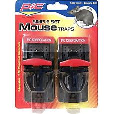 PIC Plastic Mouse Trap Reusable Simple