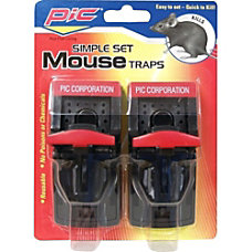 PIC Plastic Mouse Trap Reusable Simple
