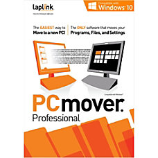 Laplink PCmover Professional 10 5 Use