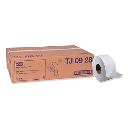 Tork Universal Jumbo 2-Ply Bathroom Tissue, White, 750 Sheets Per Roll, Pack Of 12 Rolls