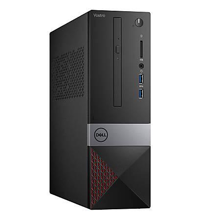 Dell™ Vostro 3471 SFF Desktop PC, Intel® Core™ i3, 4GB Memory, 128GB Solid State Drive, Windows® 10, V34713176BLK