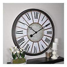 FirsTime Co Roman Wall Clock Oil