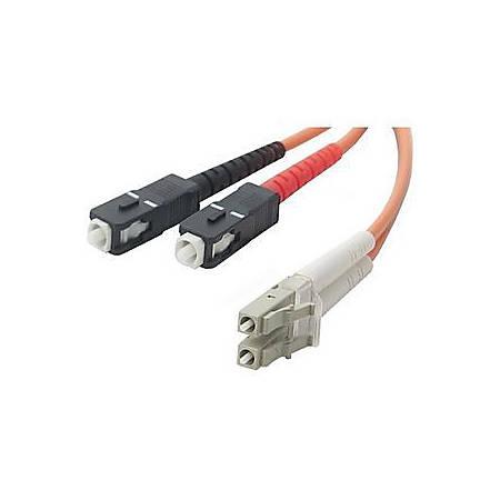 Belkin Duplex Fiber Optic Patch Cable - LC Male - SC Male - 49.21ft