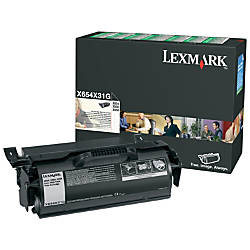 Lexmark X65x Original Toner Cartridge Black
