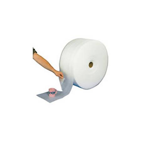 """Office Depot® Brand Foam Roll, 3/32"""" x 72"""" x 750', Slit At 18"""", Perf At 12"""""""