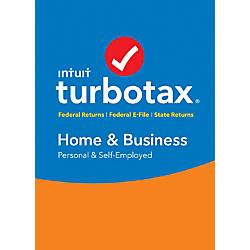 TurboTax Home Business Federal E File