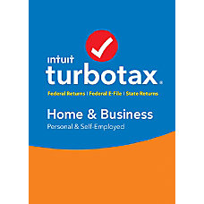 TurboTax Home Business Federal E File