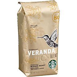 Starbucks Veranda Whole Bean Coffee Veranda