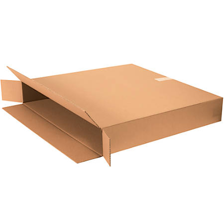 "Office Depot® Brand FOL Flat-Panel TV Boxes, 42""H x 8""W x 70""D, Kraft, Pack Of 5"