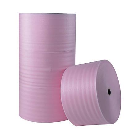 """Office Depot® Brand Antistatic Foam Roll, 1/8"""" x 72"""" x 550', Slit At 6"""""""