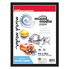 Office Depot Brand Sketchbook Multimedia Artist