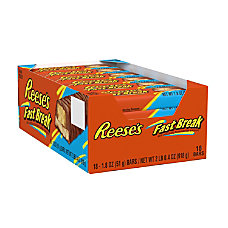 Reeses Fast Break Bars Box Of