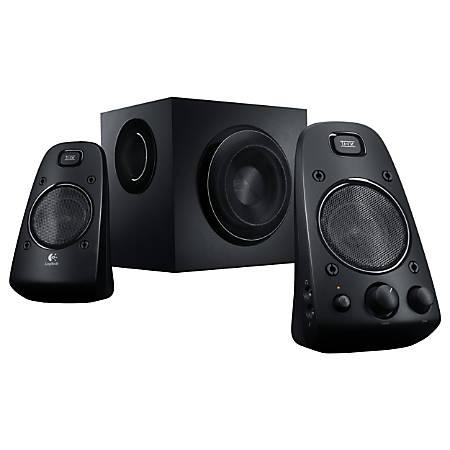Logitech® Z623 2.1-Channel 3-Piece Speaker System, DF4133