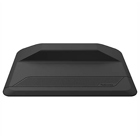 "Fellowes® ActiveFusion™ Floor/Chair Mat, Rectangular, 36"" x 24"", Black"