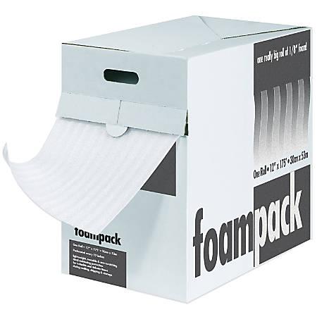 """Foam Roll Dispenser Pack, 1/16"""" x 24"""" x 175', Perf At 12"""""""