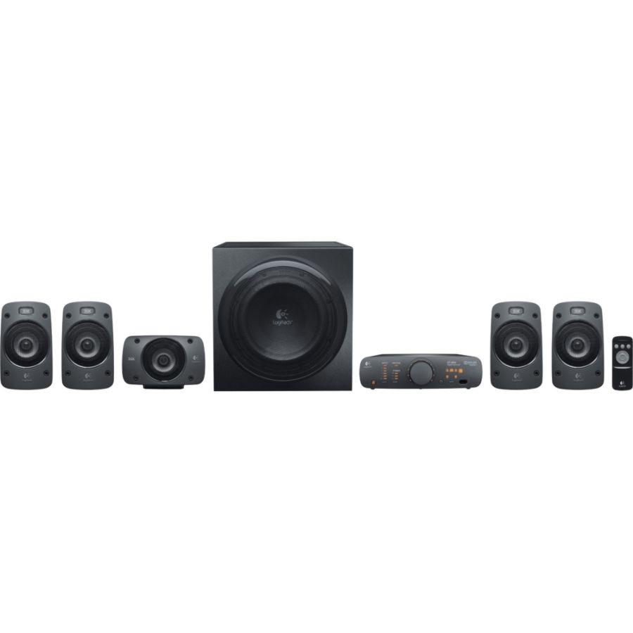 Logitech Z906 51 Speaker System 500 W RMS by Office Depot OfficeMax