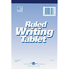 Roaring Spring Ruled Writing Tablets 100