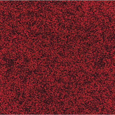 M + A Matting Stylist Floor Mat, 2' x 3', Red/Black