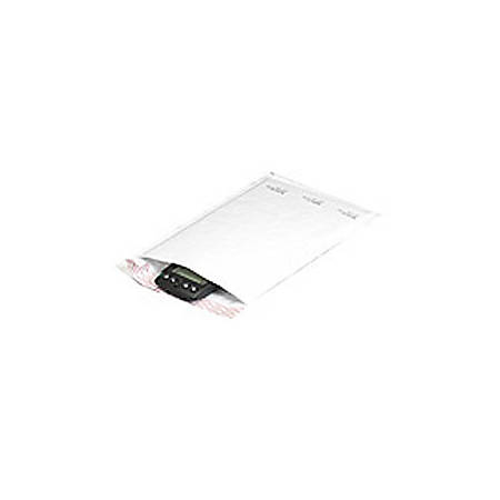 """Office Depot® Brand White Self-Seal Bubble Mailers, #1, 7 1/4"""" x 12"""", Pack Of 100"""