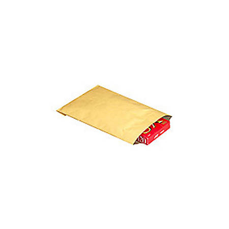 "Office Depot® Brand Kraft Padded Mailers, #1, 7 1/4"" x 12"", Pack Of 100"