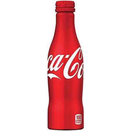 Coca-Cola® Classic, Aluminum Bottle, 8.5 Oz., Case Of 24
