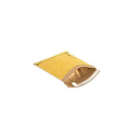 """Office Depot® Brand Kraft Self-Seal Padded Mailers, #4, 9 1/2"""" x 14 1/2"""", Pack Of 100"""