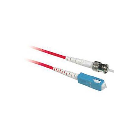 C2G-2m SC-ST 9/125 OS1 Simplex Singlemode PVC Fiber Optic Cable - Red - 2m SC-ST 9/125 Simplex Single Mode OS2 Fiber Cable - Red - 6ft