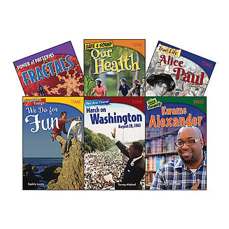 Teacher Created Materials TIME Informational Text Set, Set 3, Grade 8, Set Of 6 Books