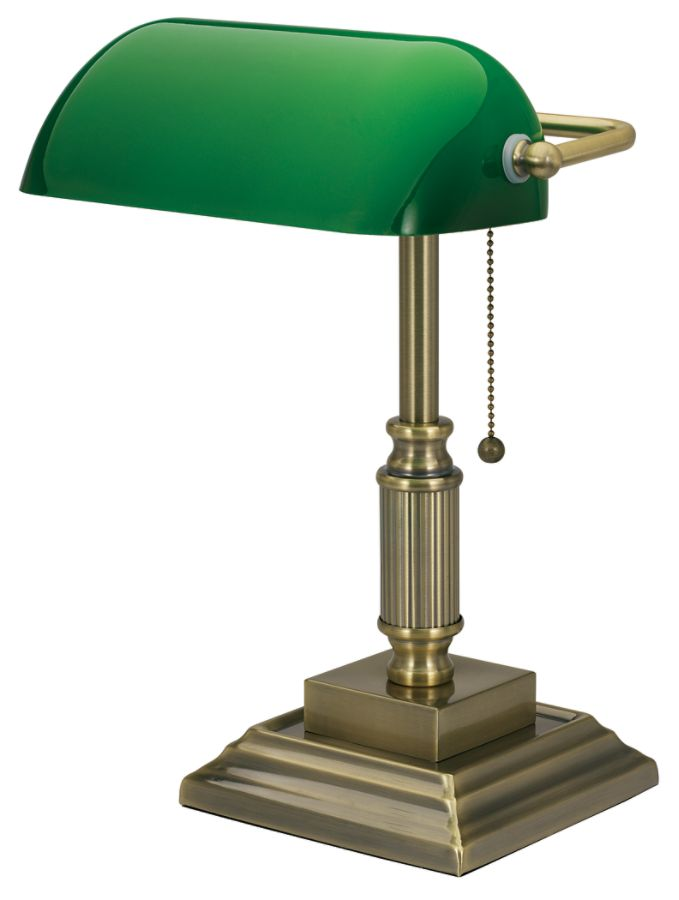 Perfect Realspace Traditional Bankers Lamp 14 34 H Antique Brass By Office Depot U0026  OfficeMax