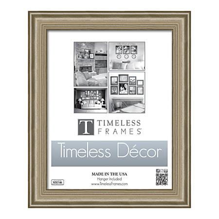 """Timeless Frames Patricia Frame, 11"""" x 14"""", Silver"""