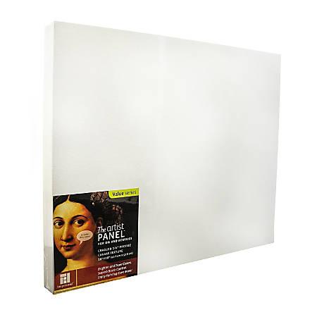 "Ampersand Artist Panel Canvas Texture Cradled Profile, 16"" x 20"", 1 1/2"""