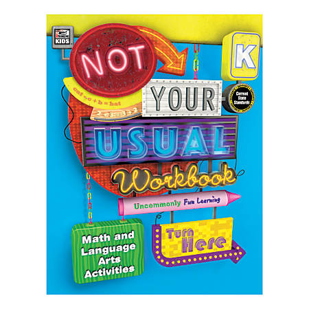 Thinking Kids® Not Your Usual Workbook, Grade K