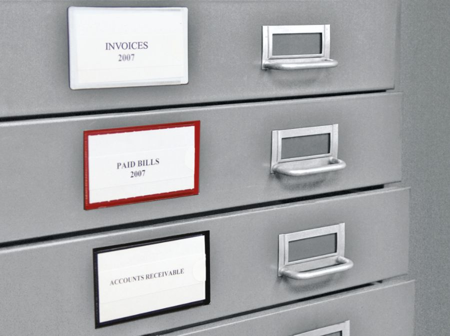 Luxury Magnetic File Cabinet Labels