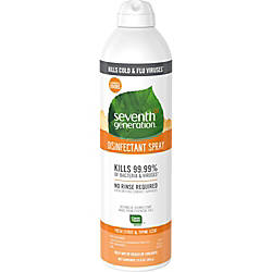 Seventh Generation Fresh CitrusThyme Disinfectant Spray